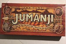 Vintage Jumanji Board Game 100% Complete Set Milton Bradley 1995 Robbin Williams