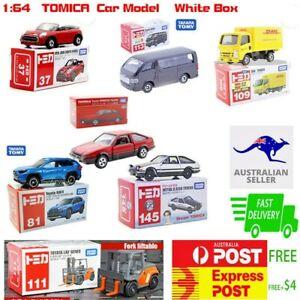 1:64 Takara Tomy TOMICA White&Red Box NO.37#81#111#109#113#14 Diecast Model Car