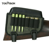 Tourbon Ammo Carrier Shells Holder Cheek Piece Rest Pads Rifle/Shotgun Tactical