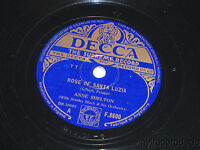 ANNE SHELTON Rose Of Santa Luzia / Everybody Knew But Me 78 UK Decca F.8600