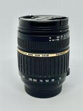 Objectif Super-ZOOM TAMRON (NIKON AF) LD XR 18-200mm f/3,5-6,3 MACRO DiII Lens