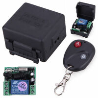 Wireless Remote Control Switch DC 1CH 12V 10A 433MHz Transmitter + Receiver S60