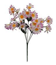 30 Small Daisies LAVENDER  Silk Wedding Flowers Bouquets Centerpieces Decoration