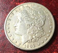 1902 S Morgan Silver Dollar VF