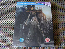 Blu Steel 4 U: The Hobbit The Desolation Of Smaug 3D & 2D Steelbook 2Disc Torn
