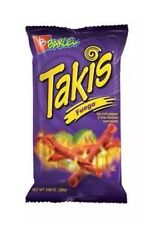 1 bag TAKIS Fuego Hot Chili & Lime Corn Snack Chips 9.9 oz
