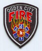 Ogden City Fire Department Patch Utah UT