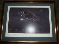 More details for framed alone and unarmed 13 squadron gulf war 1991 military print