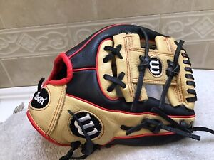 "Wilson A500 11"" Youth Baseball Softball Glove Right Hand Throw"