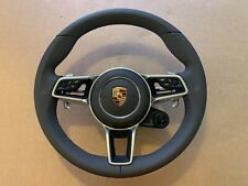 OEM Porsche 911 MACAN CAYENNE CAYMAN BOXTER Steering Wheel Paddles Heating Boost