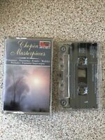 Chopin Masterpieces Classics for Pleasure Vintage EMI Cassette 1985
