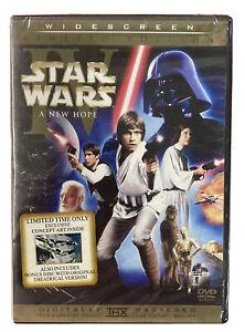 Star Wars IV A New Hope DVD 2 Disc Set Limited Original Theatrical Version THX *