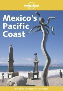 MEXICO'S PACIFIC COAST LONELY PLANET GUIDE BOOK
