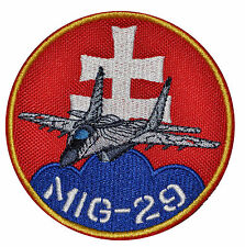 Mig 29 SlovakiAN ARMY  patches