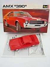 VINTAGE 1969 REVELL AMX 390 1/32 SCALE CAR MODEL BUILT UP