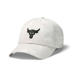 Under Armour Project Rock Cotton Cap Dwayne Johnson Breathable Hat 1356717-110