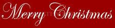 ~ITEM #5273 F~ Primitive Stencil ~ MERRY CHRISTMAS