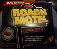 Black Flag Roach Motel Indoor Home Bug Insect Trap Pest Control Killer 2 Pack
