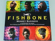 Fishbone - Monkey Business - '93 RARE 4 trk Maxi Single Promo cd