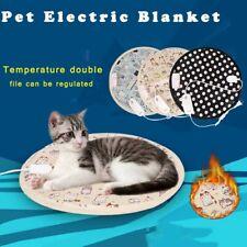 Heating Pet Pad Blanket Electric Waterproof Mattress Heated Cat/Dog Bed Mat