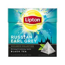 Lipton Tee 5 x 20 = 100 Beutel Pyramide Russian Earl Grey