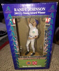 RANDY JOHNSON 2001 CY YOUNG HARTLAND #2of4 DIAMONDBACKS Figurine Statue BIG UNIT