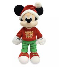 Disney 2020 Mickey Mouse Holiday Festive Cheer Christmas Plush
