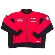 PBM DUCATI ZIPPED NECK SPORTS TOP SUPERBIKES MOTORCYCLE L SIZE NEW
