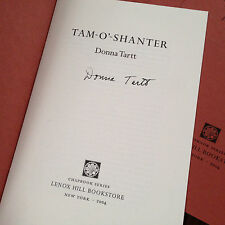 Donna Tartt - Limited Edition SIGNED CHAPBOOK Little Friend Secret History 1/250