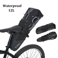 B-SOUL Bike Bicycle Saddle Bag Back Seat Tail Pouch Cycling Bag Seatpost GS
