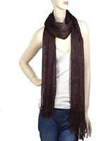 Brown Shimmer Scarf