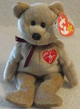 Ty Beanie Baby1999 Signature Bear 5th Generation Hang Tag