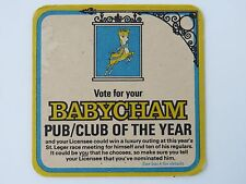 Beer Coaster ~ Vote for your BABYCHAM Sparkling Perry Pub/Club of the Year; Deer