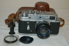 Zorki-4 Vintage 1971 Rangefinder Camera and Jupiter-8 lens. No.71002530. UK Sale