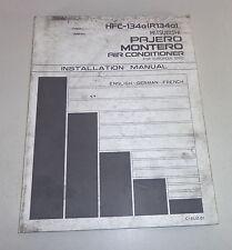 Werkstatthandbuch Mitsubishi Pajero / Montero Air Conditioner von 1994