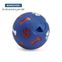Ancol Perro Cachorro Tratar Dispensador Bola de Juguete Entrenamiento Ejercicio