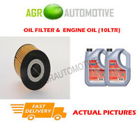 PETROL OIL FILTER + FS 5W40 ENGINE OIL FOR VOLVO V70 2.3 250 BHP 1999-00