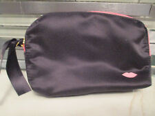 Laura Geller Black Cosmetic Bag With Zipper