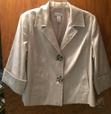 Lightweight Spring Blazer12 Petite With 3/4 Sleeves NWT