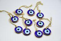 Turkish Evil eye Greek Mati Nazar Amulet Protection 100% Original Handmade Glass