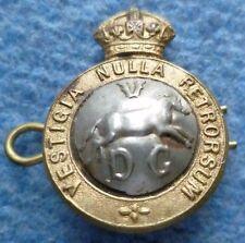Badge- 5th Dragoon Guards Badge; Vestigia Nulla Retrorsum Badge(Bi-Metal,2 Lugs)