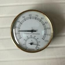 2in 1 Sauna Room Thermometer Hygrometer Humidity Temperature Meter Gauge
