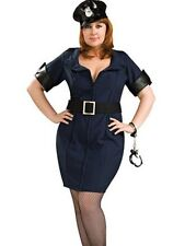 Officer Law Sexy Cop Police Woman Adult Women's Costume Plus Size