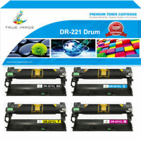 4 Drum Unit Compatible for Brother DR221CL DR221 HL3140CW 3170CDW MFC-9340CDW