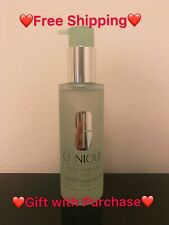 Clinique Liquid Facial Soap Mild - Dry Combination 6.7oz/200 ml FULL SIZE, NEW