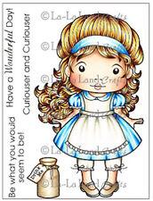 La-La Land 'Marci in Wonderland' Cling Stamps