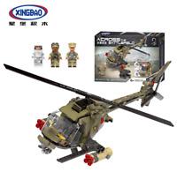 Bausteine Modell XINGBAO Hubschrauber Militärische Spielzeug Gift