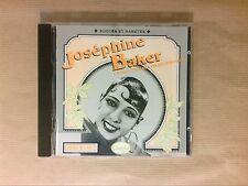 CD / JOSEPHINE BAKER / 1926-1932 / SUCCES ET RARETES / TRES BON ETAT