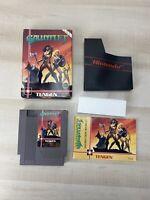 Gauntlet Nintendo NES Tengen  w/ Box & Manual Authentic Complete CIB TESTED