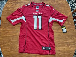 Nike NFL On Field Official Arizona Cardinals #11 Larry Fitzgerald Jersey Men's S